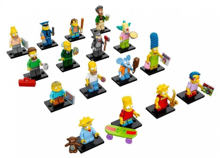 simpsons lego